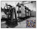 Les presses du début du XXe siècle. © Hachème 26